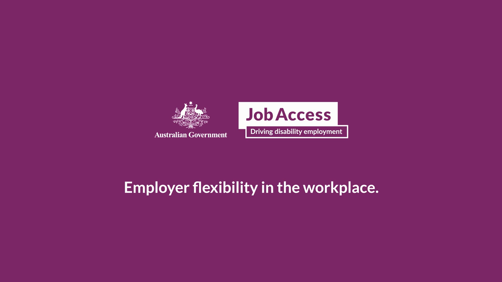 videos job access employer flexibility in the workplace