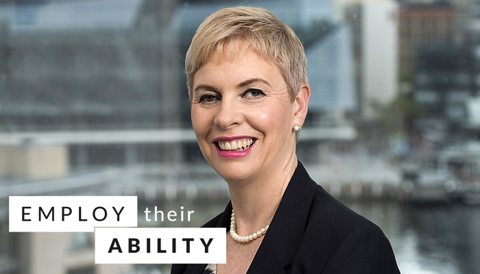 Donna Purcell, Senior Manager Accessibility and Capability Advice at Commonwealth Bank.