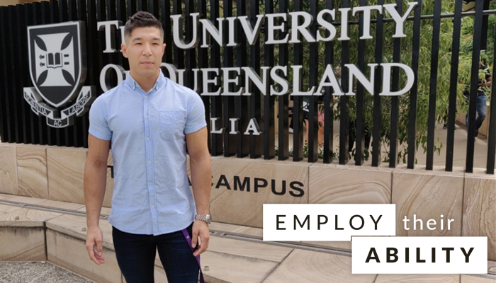 Ahmed Rezaei, Administrative Support Assistant, The University of Queensland