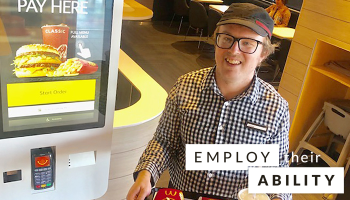 Christopher Croker, Employee at McDonald's