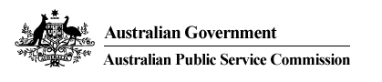 Australian Government Australian Public Service Commission logo