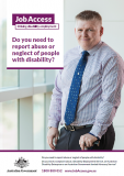 Cover of Do you need to report abuse or neglect of people with disability?